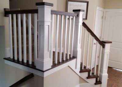 Riverton Utah shaker railing
