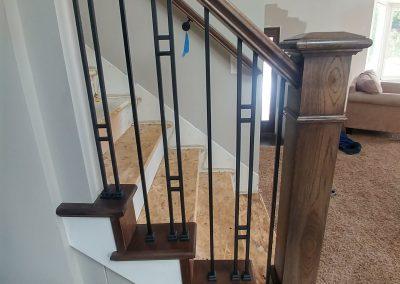 Sandy Utah modern stairs