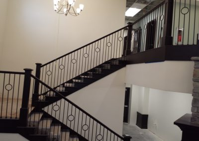 South Jordan custom stair rail