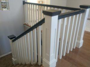 shaker stair rail