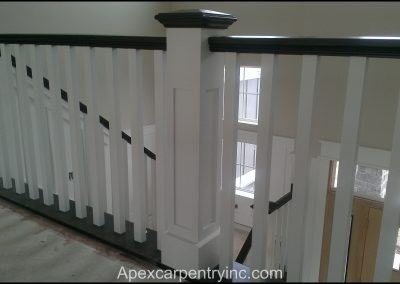 Utah shaker stair railing