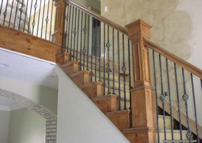 Provo alder railing