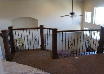 Taylorsville alder railing