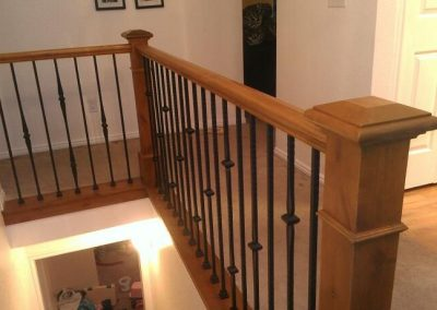 west jordan stair banister