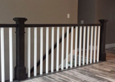 black-stair-railing