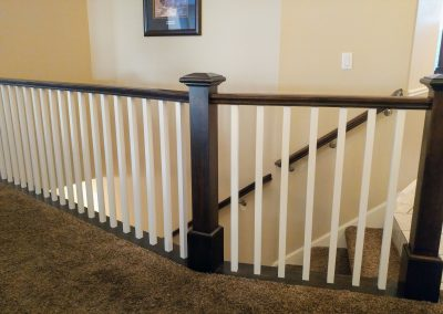 craftsman style railing in South Jordan