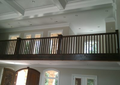 Holladay UT. craftsman style railing
