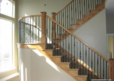 Bountiful custom railing