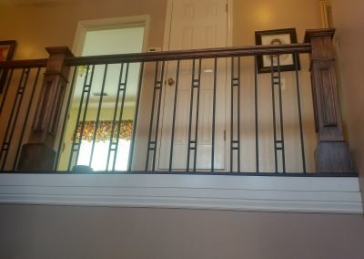 custom stair rail in Sandy Utah